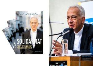 """""""Solidarität. Anstiftung zur Menschlichkeit"""" - Buchpräsentation mit Caritas Präsident Michael Landau; Cover & Foto Nr.13; Foto Landau: © 2016 Michaela Greil/MIG-Pictures e.U."""